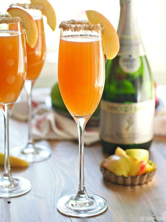 sApple Cider Mimosa